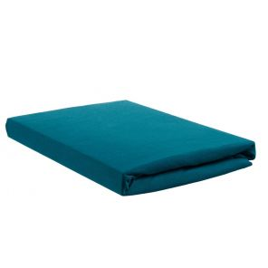 Beddinghouse Jersey Topper Fitted Sheet With Split Seagreen