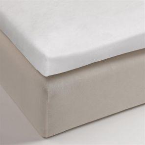 Beddinghouse Topper Molton Stretch - White