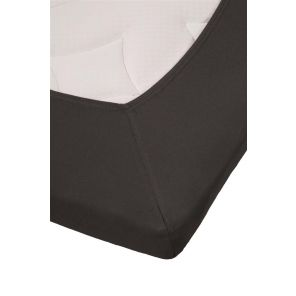 Beddinghouse Percale Topper Fitted Sheet With Split Anthracite