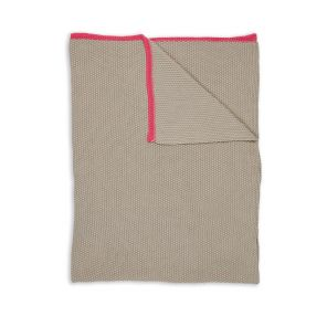 Pip Studio Bonsoir Throw Khaki