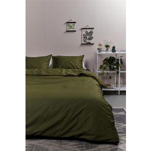 Ambiante Cotton Uni Olive Green