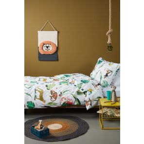 Beddinghouse Kids Crazy Jungle Multi
