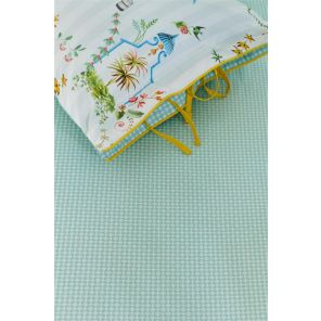 Pip Studio Cross Stitch Fitted Sheet Light Blue