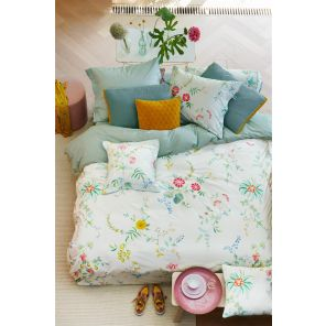 Pip Studio Fleur Grandeur Roll Cushion White