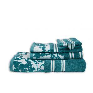 Fleurir Towel_Blue_UV_UV
