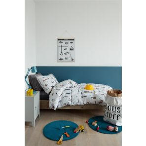 Beddinghouse Kids Gears Grey