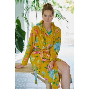 Pip Studio Good Evening Bathrobe Yellow