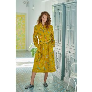 Pip Studio Les Fleurs Bathrobe Yellow