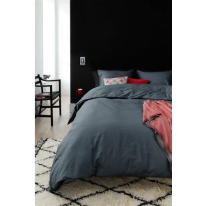 Beddinghouse Organic Basic Anthracite