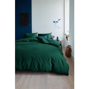 Beddinghouse Organic Basic Dark Green