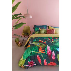 Beddinghouse Tropical Treasure Green