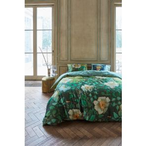 Beddinghouse x Van Gogh Museum Wild Roses Green
